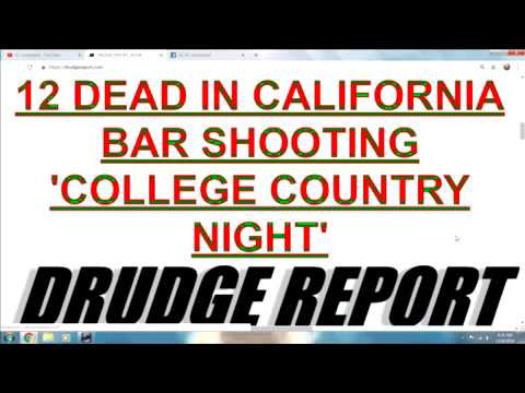 13 DEAD IN CALI BAR SHOOTING 'COLLEGE COUNTRY NIGHT'. 'VEGAS MASSACRE SURVIVORS INSIDE'