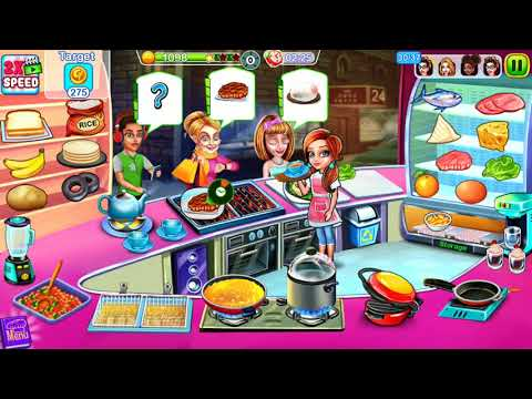 Cooking Express || Pizza Shop: (Truck 1, Levels 36 To 37)