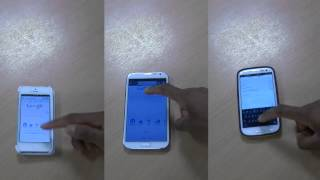 Samsung Galaxy Note 2 Vs Samsung Galaxy S3 Vs IPhone 5 Speed Test Unlock, Camera, Internet Search