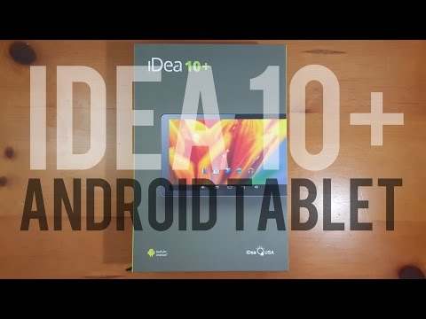 [Unboxing & First Impressions] iDeaUSA 10.1