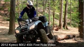8. MotoUSA First Ride:  2012 Kymco MXU 450i