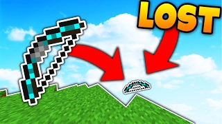 I LOST THE BEST OP BOW in MINECRAFT...? (Minecraft Skybounds Skyblock)