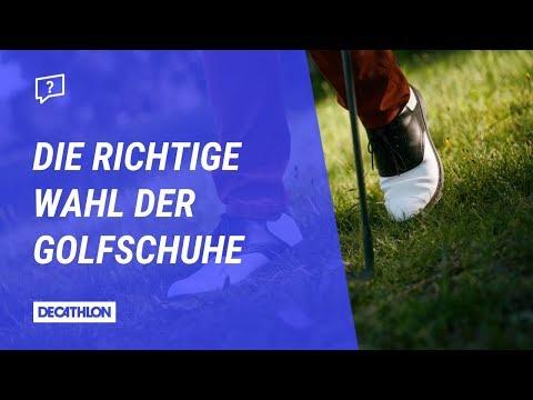 Die richtige Wahl der Golfschuhe mit Inesis