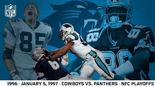 1996 Divisional Playoffs: Panthers First Playoff Win | Cowboys vs. Panthers (FULL GAME) | NFL by NFL
