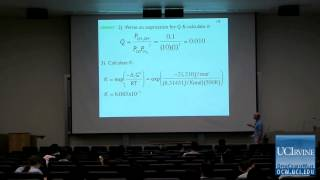 Thermodynamics and Chemical Dynamics 131C. Lecture 18. Equilibrium In Action.