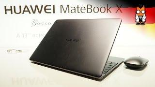 Wir haben uns das neue Matebook X angesehen, das Huawei heute vorgestellt hat. Das ultrakompakte Notebook ist gut verabeitet und konnte uns im ersten Hands-o...