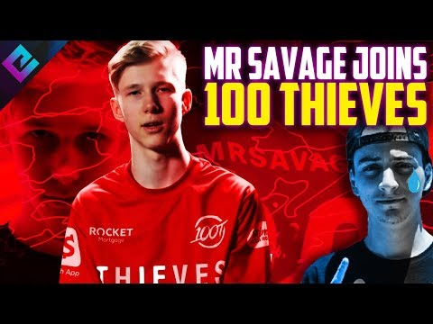 100 Thieves Sign MrSavage NOT Cloakzy