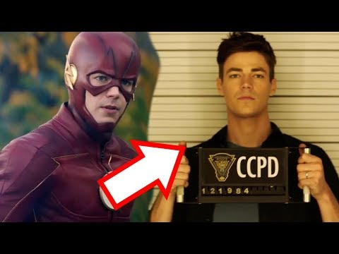 The Trial of The Flash! - The Flash 4x10 Trailer Breakdown!