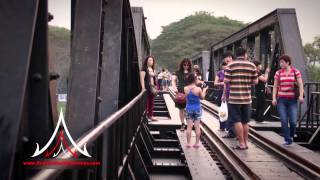Thailand Attractions - Bridge Over River Kwai