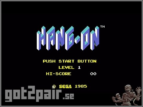 Hang-On - Master System