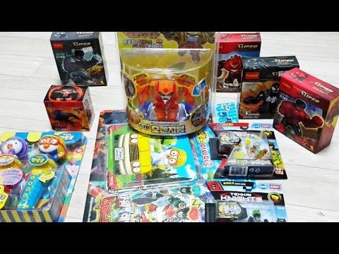 뽀로로 4기 마이크 레고 헐크시리즈 텐카이나이트 시리즈 후로티로봇 다이노포스 퍼즐 장난감 구입 종류 케이스 영상 - Buri Toy Play 유아동영상, 어린이 놀이
