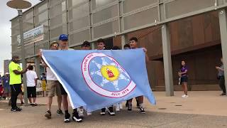 Standing Rock Sioux Tribe leads NABI Parade of Flags 2018
