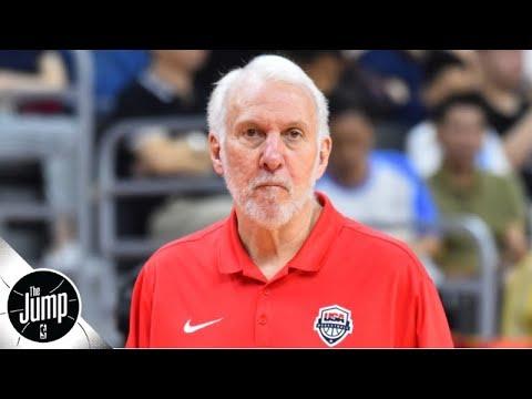 Video: Gregg Popovich calls Team USA critics 'immature' and 'arrogant' | The Jump