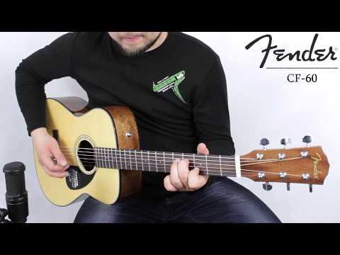 Fender CF-60 Natural