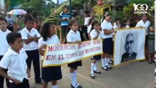 Ciudad Barrios conmemoró 35 aniversario de muerte de monseñor Romero