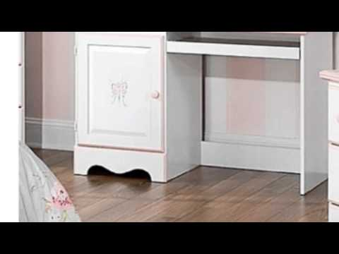 Video View the latest video of Whitefinish Desk W Floral And Pink Accents