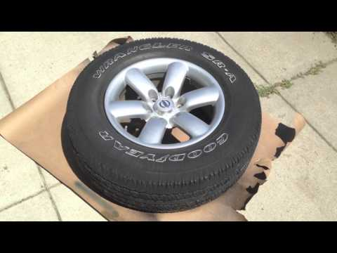 HOW TO Plasti Dip Your Wheels (Nissan Titan)