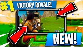 PLAYING Fortnite Battle Royale ON YOUR PHONE!! ( All Mobile Update News )
