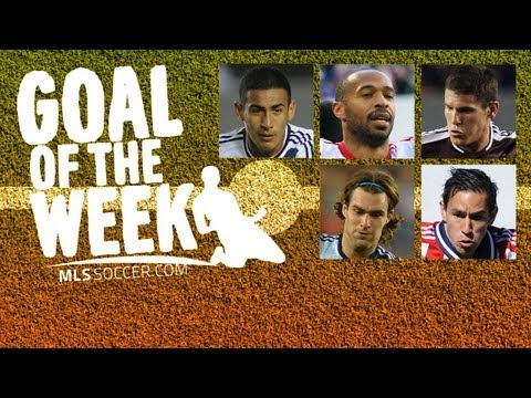 Video: Goal of the Week Nominees: Week 5