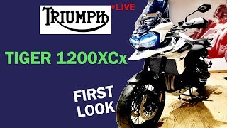 9. Triumph TIGER 1200XCx First Look | TechTak