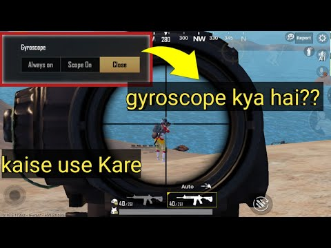 gyroscope kya hai || gyroscope kaise used kre || pubg mobile || zero recoil with gyroscope😱😱