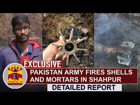 EXCLUSIVE-Pakistan-Army-fires-shells-and-mortars-in-Shahpur-Poonch-Region-Thanthi-TV