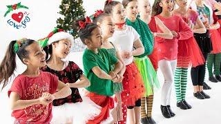 Deck the Halls Dance | Christmas Dance Song for Kids Choreography | Christmas Dance Crew