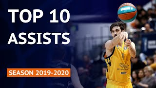 Jeremy Hill's pass to Dushan Ristic in the top 10 assists of VTB United League season