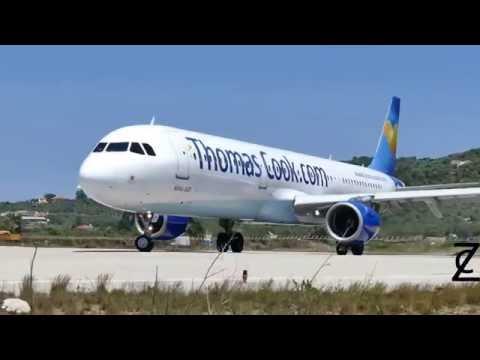 Захватывающие взлет и посадка самолета - подборка HD на острове сан мартин принцесса Юлианна Beach (видео)