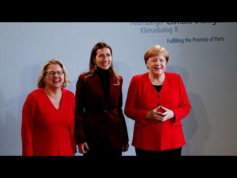 Η Μέρκελ θέλει εφικτές λύσεις κατά της κλιματικής αλλαγής…