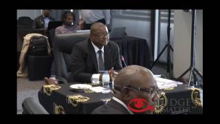 Judicial Service Commission April 2017 interview of Mr G N Moshoana for the Labour Court. Judges Matter is a South African...