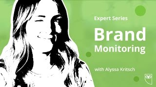 Building A Brand and Brand Monitoring