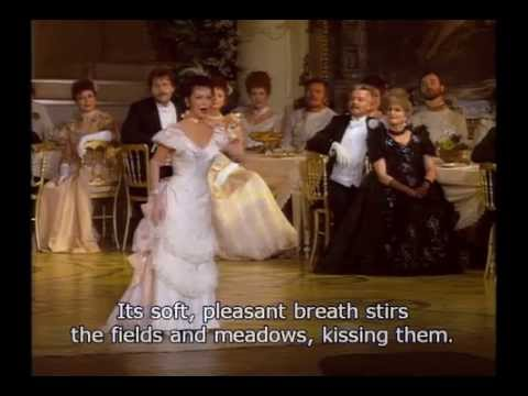 Natalie Dessay - Voices Of Spring/Frühlingsstimmenwaltzer - Johann Strauss - English Subtitles