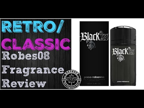Retro: Black XS by Paco Rabanne Fragrance Review (2005)