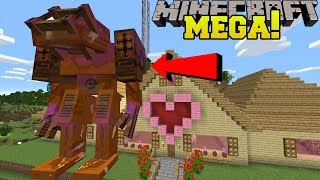 Minecraft: MEGA CHOCOLATE GOLEM!!! (WORLD'S BIGGEST GOLEM MADE OF CHOCOLATE!) Mod Showcase