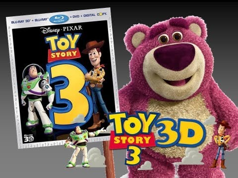 Toy Story 3 3D Blu-Ray Unboxing