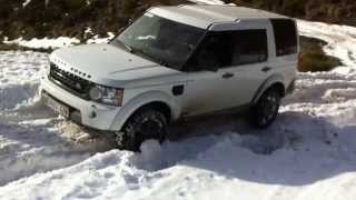 Land Rover Discovery 4 En Nieve 30-12-2012