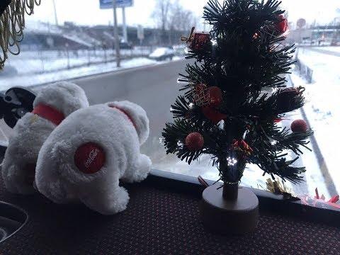 Дальнобой с корешем ) ПИТЕР-МОСКВА !!!) (ЧАСТЬ 1) Поставил Ёлочку )