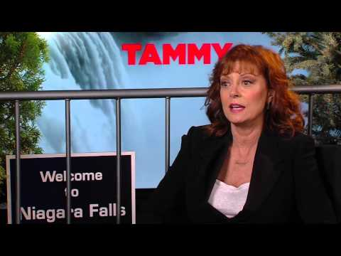 Tammy: Susan Sarandon Official Movie Interview