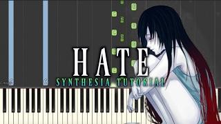Video Dark Piano - Hate | Synthesia Tutorial MP3, 3GP, MP4, WEBM, AVI, FLV Juni 2018