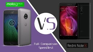 Moto G5 Plus Vs Redmi Note 4 SpeedTest And Full Comparison Of Display,Camera,Battery,Design In HindiRedmi Note 4 Vs Moto G5 Plus SpeedTest And Full Comparison Of Display,Camera,Battery,Design In HindiMoto G5 Plus vs Xiaomi Redmi Note 4 - Which is better device For You? Here is a detailed Full Comparison of the two devices for Display ,Performance ,Camera ,Design And Build Quality ,Software And Battery life.Xiaomi Redmi 4 New Budget Smartphone First Look And Details,Review,Specifications And Price In Hindihttps://www.youtube.com/watch?v=8-h5E10sIj4Moto G5 Plus Vs Lenovo P2 SpeedTest And Full Comparison Of Display, Camera, Battery, Design In Hindihttps://www.youtube.com/watch?v=s2Mi606B-8o