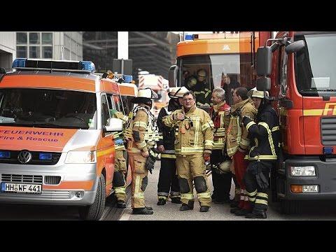 Εκκενώθηκε το αεροδρόμιο του Αμβούργου: Δεκάδες άτομα με αναπνευστικά προβλήματα
