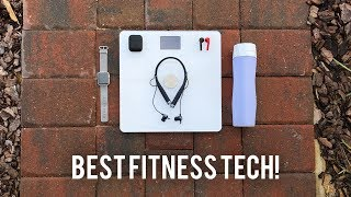 Giveaway to win a pair of FREE Vi Earphones! http://bit.ly/ViDanny Comment and let me know how Vi will help your fitness goals! These are the top fitness/workout tech products I am using on my health journey! Help me to stay healthy with encouragement on social media! Vi AI Personal Trainer Headphones: http://bit.ly/ViDannyHidrate Spark Smart Water Bottle: https://hidratespark.com/Withings Body Comp Wifi Scale: http://amzn.to/2sEqDybApple Watch Series 2: https://www.apple.com/watch/Airpods by Colorware: http://www.colorware.com/p-743-apple-airpods.aspxSponsored by Lifebeam.Follow me on social media:Twitter: http://www.twitter.com/superscientificGoogle Plus: http://plus.google.com/+dannywinget/Instagram: http://www.instagram.com/superscientificFacebook: http://www.facebook.com/DWReviews