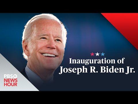 WATCH LIVE: The inauguration of Joe Biden and Kamala Harris - PBS NewsHour special coverage