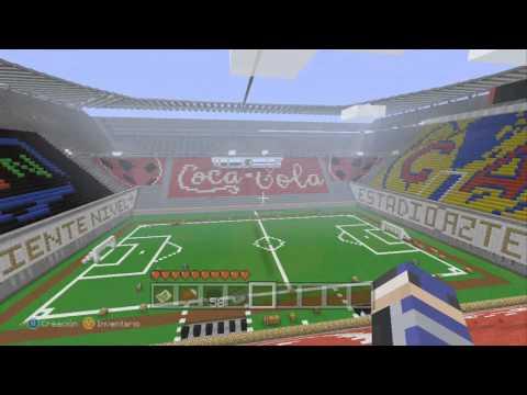 Minecraft Xbox360 - Estadio Azteca y WTC (Ingeniería de lo Imposible 26)