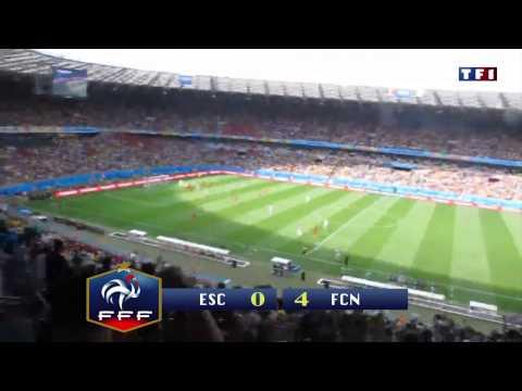 Match de Championnat CAUDRY - FCN