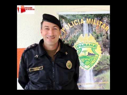PM prendeu ladrão de bolsa em Prudentópolis - Capitão Clever