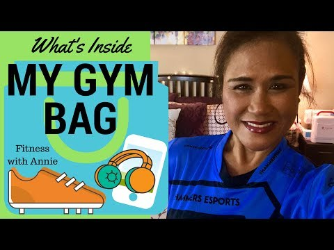 What's Inside My Gym Bag | How to Pack for the Gym | Fitness with Annie