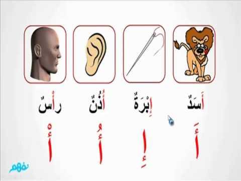 حرف الألف  -  لغة عربية  -  للصف الأول الإبتدائي