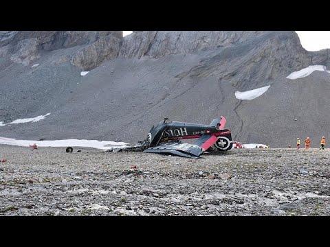 Ελβετία: Συνετρίβη μικρό αεροσκάφος -Νεκροί οι 20 επιβαίνοντες…